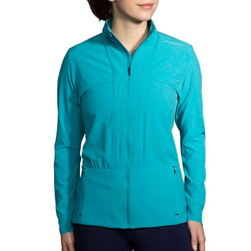 Womens Brooks Fremont Cold Weather Jackets - Heather Tile L