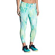 Womens Brooks Ghost Crop Tights & Leggings Pants