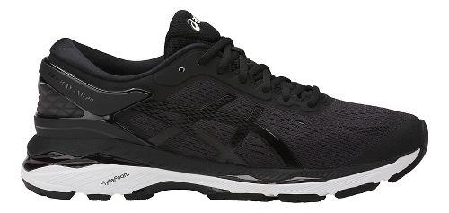 Womens ASICS GEL-Kayano 24 Running Shoe - Black/White 9.5