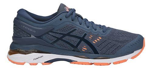 Womens ASICS GEL-Kayano 24 Running Shoe - Smoke Blue 11