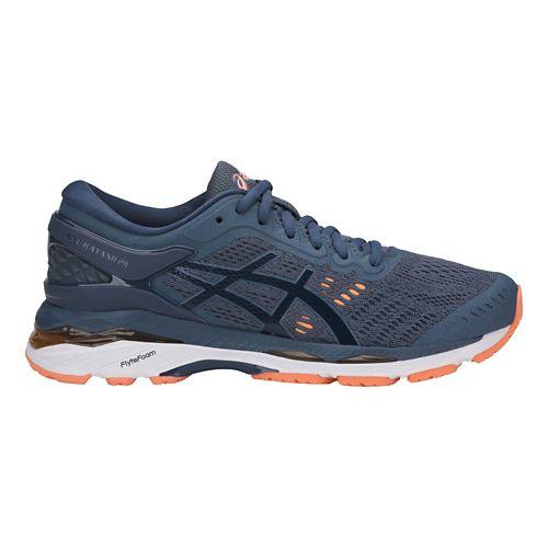 Womens ASICS GEL-Kayano 24 Running Shoe - Smoke Blue 7.5