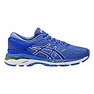 Womens ASICS GEL-Kayano 24 Running Shoe - Blue/White 9.5
