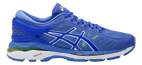 Womens ASICS GEL-Kayano 24 Running Shoe - Blue/White 10.5