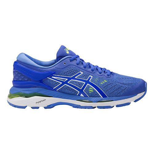Womens ASICS GEL-Kayano 24 Running Shoe - Blue/White 11.5