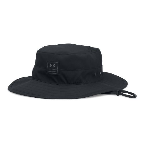 Mens Under Armour Train Bucket Headwear - Black