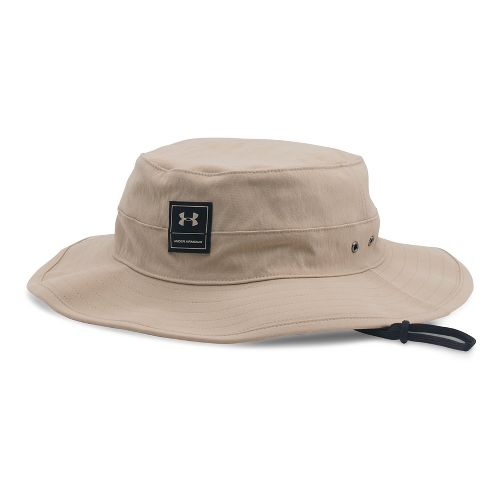 Mens Under Armour Train Bucket Headwear - Desert Sand
