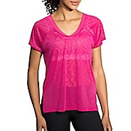 Womens Brooks Ghost Short Sleeve Technical Tops