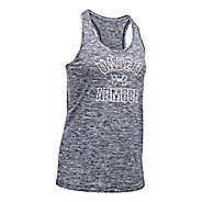 Womens Under Armour PS Wordmark Twist Sleeveless & Tank Tops Technical Tops - Black S