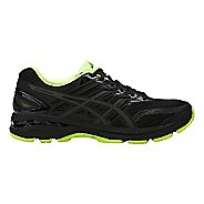 Mens ASICS GT-2000 5 Lite-Show Running Shoe - Black/Yellow 12