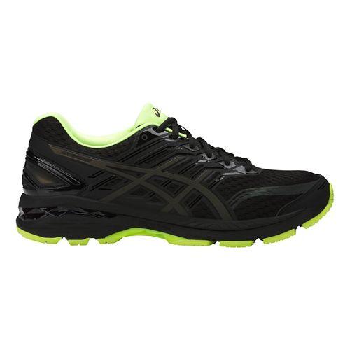 Mens ASICS GT-2000 5 Lite-Show Running Shoe - Black/Yellow 9.5