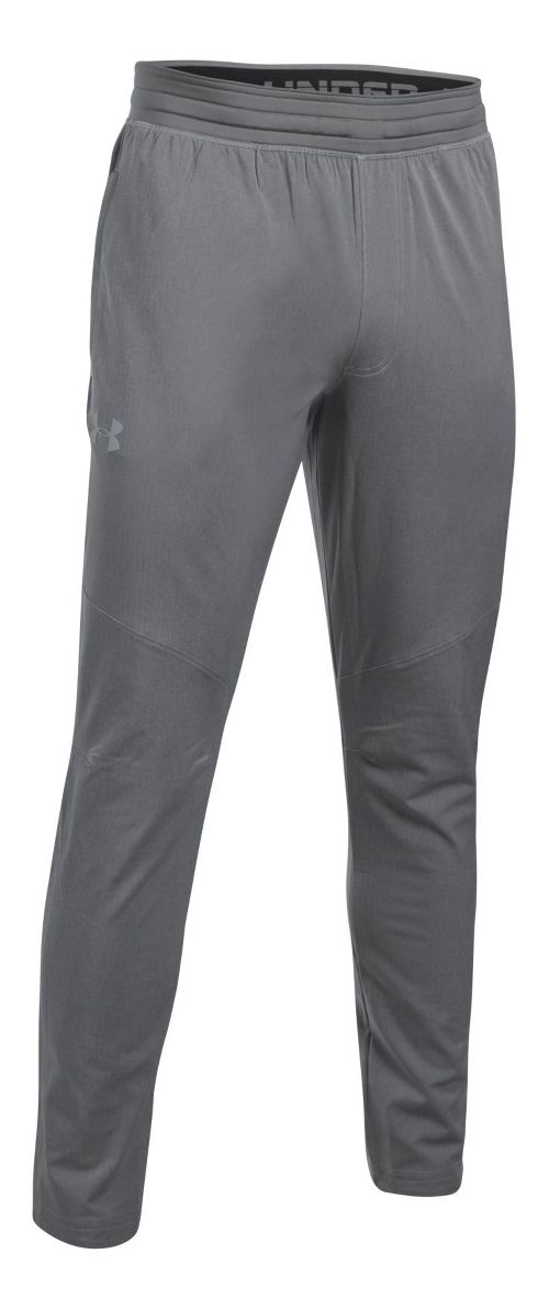 Mens Under Armour WG Woven Pants - True Grey Heather XL