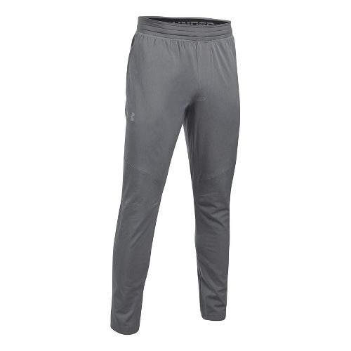 Mens Under Armour WG Woven Pants - True Grey Heather L