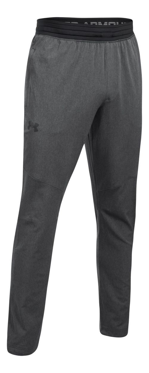 Mens Under Armour WG Woven Pants - Carbon Heather XL