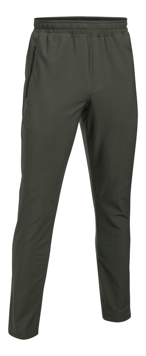 Mens Under Armour WG Woven Pants - Downtown Green XXL