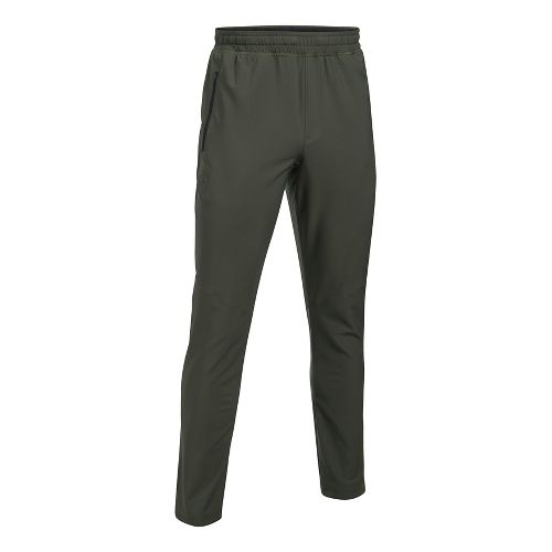 Mens Under Armour WG Woven Pants - Downtown Green XL