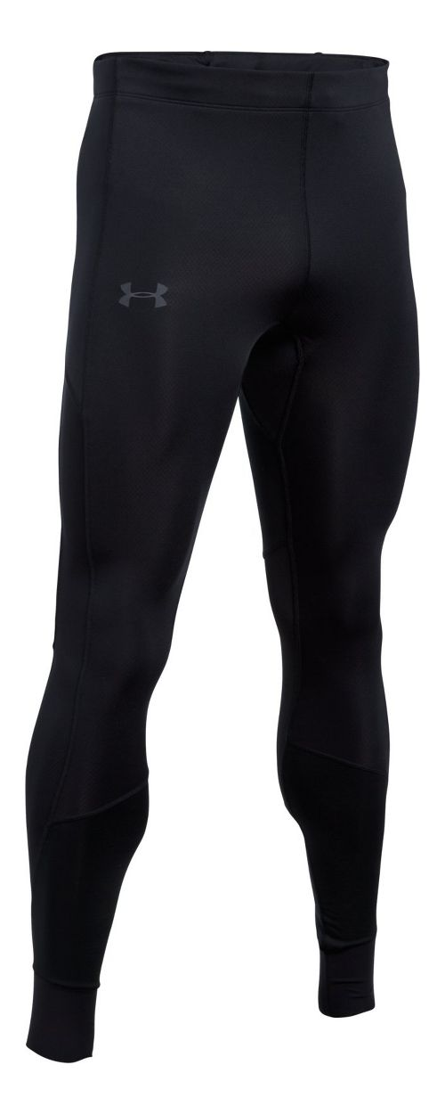 Mens Under Armour ColdGear Reactor Run Tights & Leggings Pants - Black S
