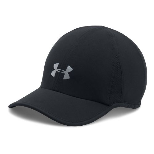 Womens Under Armour Shadow Cap 2.0 Headwear - Black