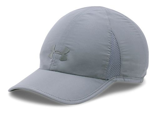 Womens Under Armour Shadow Cap 2.0 Headwear - Steel