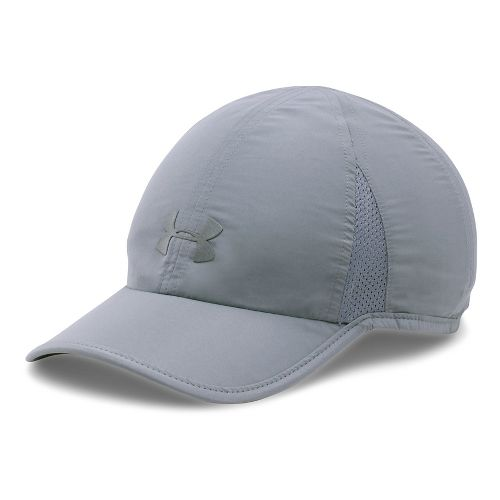 Womens Under Armour Shadow Cap 2.0 Headwear - Steel