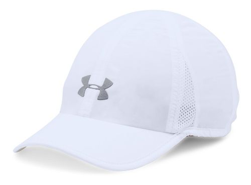 Womens Under Armour Shadow Cap 2.0 Headwear - White