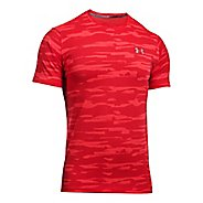 Mens Under Armour Threaborne Run Mesh Short Sleeve Technical Tops