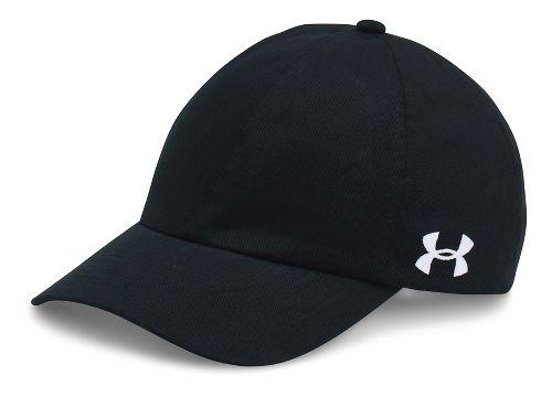 Womens Under Armour Team Armour Cap Headwear - Black