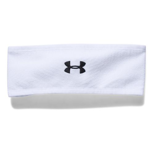 Womens Under Armour Team Survivor Fleece Band Headwear - White