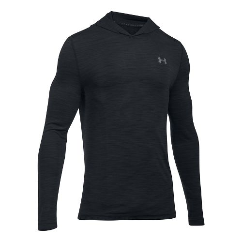 Mens Under Armour Threadborne Seamless Hoody Half-Zips & Hoodies Technical Tops - ...