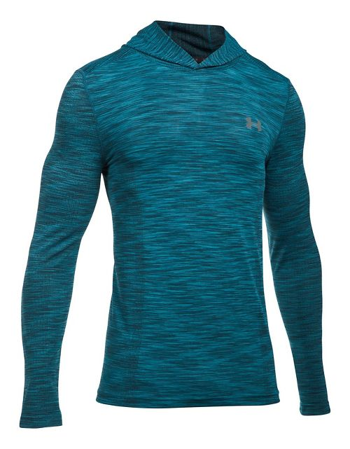 Mens Under Armour Threadborne Seamless Hoody Half-Zips & Hoodies Technical Tops - Bayou ...