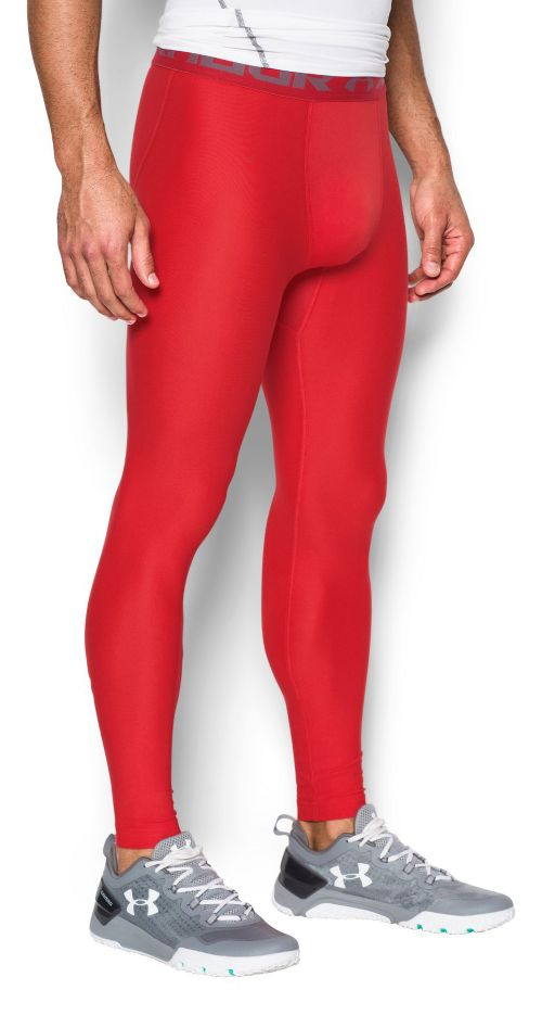 Mens Under Armour HeatGear 2.0 Tights & Leggings Pants - Midnight Navy XXL