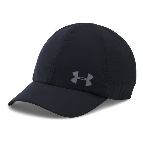 Womens Under Armour Fly By AV Cap Headwear - Black