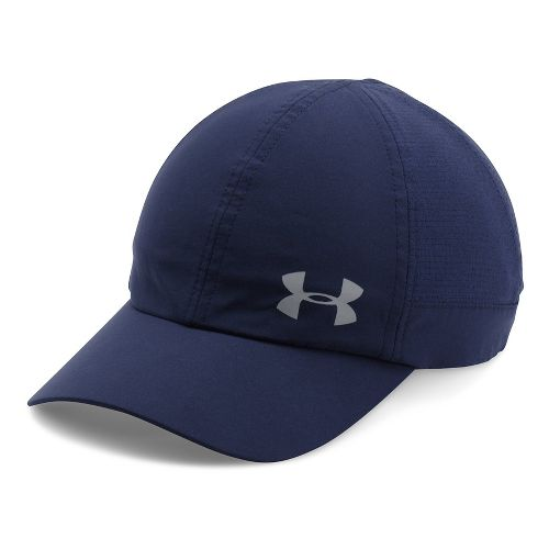 Womens Under Armour Fly By AV Cap Headwear - Midnight Navy