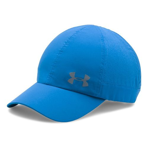 Womens Under Armour Fly By AV Cap Headwear - Mediterranean