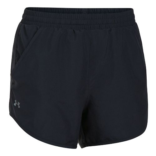 Womens Under Armour Speed Stride 2-in-1 Shorts - Black S