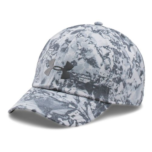 Womens Under Armour Printed Renegade Cap Headwear - Glacier Grey/Grey