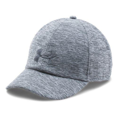 Womens Under Armour Twisted Renegade Cap Headwear - True Grey Heather