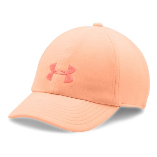 Womens Under Armour Twisted Renegade Cap Headwear - Peach/Orange