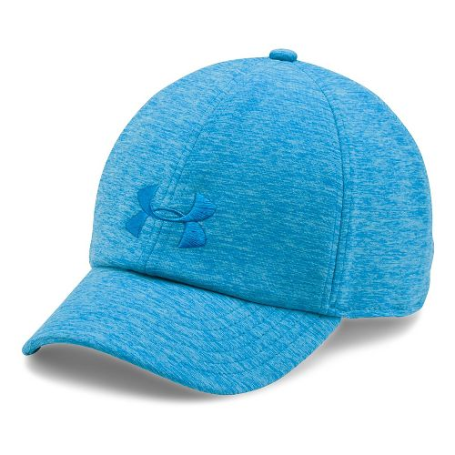 Womens Under Armour Twisted Renegade Cap Headwear - Carolina Blue/Blue