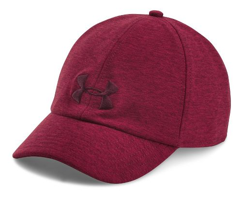 Womens Under Armour Twisted Renegade Cap Headwear - Raisin Red/Currant