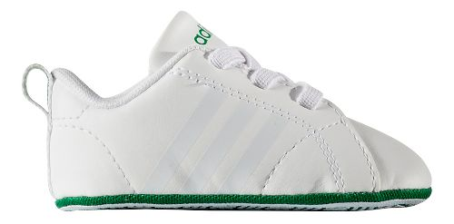 adidas Advantage VS Crib Casual Shoe - White/Green 0C