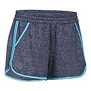 Womens Under Armour Twist Tech 2.0 Unlined Shorts - Navy/Blues L