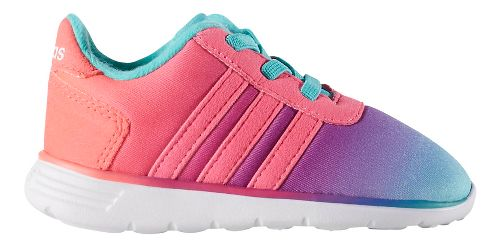 adidas Lite Racer Casual Shoe - Mint/Pink 9C