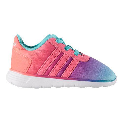 adidas Lite Racer Casual Shoe - Mint/Pink 6.5C