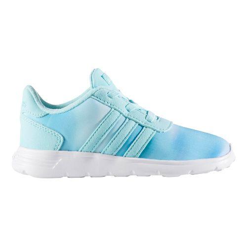 adidas Lite Racer Casual Shoe - Aqua/White 10C