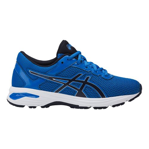 Kids ASICS GT-1000 6 Running Shoe - Blue/Black 1Y
