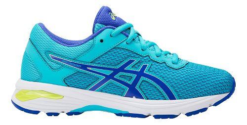 Kids ASICS GT-1000 6 Running Shoe - Aquarium/Purple 1Y