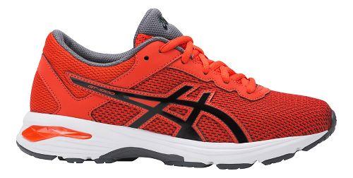 Kids ASICS GT-1000 6 Running Shoe - Red/Black 2Y