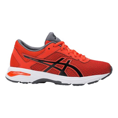 Kids ASICS GT-1000 6 Running Shoe - Red/Black 1Y