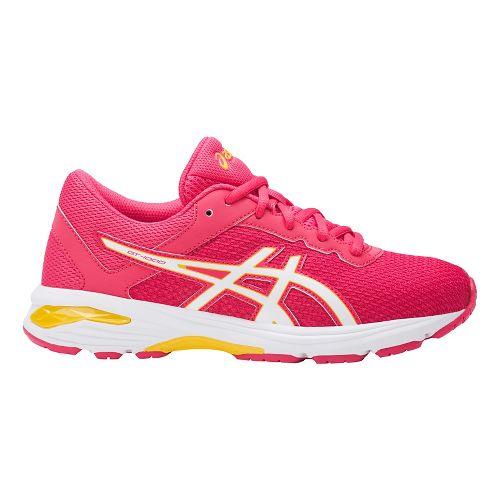 Kids ASICS GT-1000 6 Running Shoe - Pink/White 6.5Y