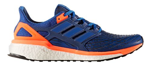 Mens adidas Energy Boost Running Shoe - Black/White 10.5